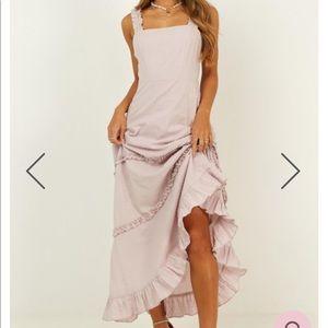 Darling light purple Showpo maxi dress